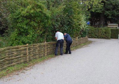 Zaun waagrecht Chiemgau