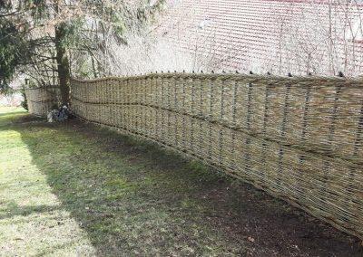 Zaun waagrecht fein Steinheim 4